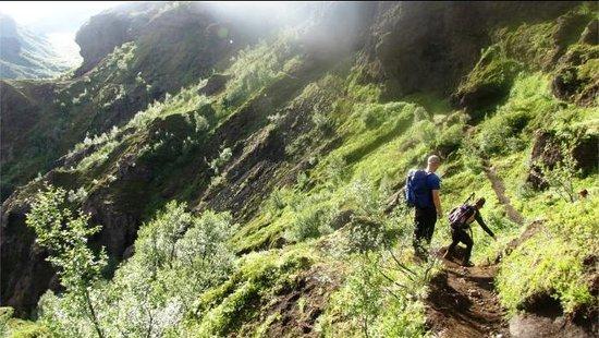 Volcano Huts Thorsmork:                                                       Hiking in Þórsmörk