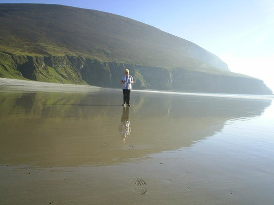 Keel Beach:                   Dookinella Achill Island