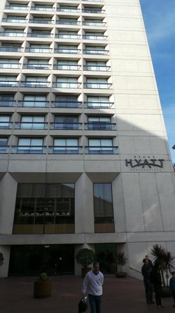 Grand Hyatt San Francisco:                   Hotel pic from Starbucks