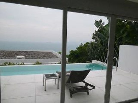 Infinity Residences & Resort Koh Samui:                   View Over Pool and Sea