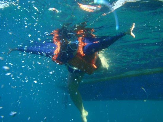 Siete Pecados:                                                       swimming