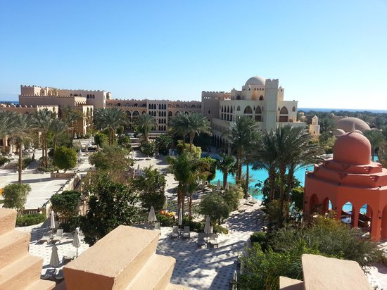 The Makadi Palace Hotel:                   room view