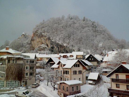 Hotel Jelovica Bled:                   View from Hotel Jelovica