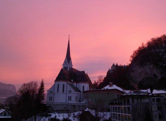 Hotel Jelovica Bled:                   Saint Martins church view from Jelovica