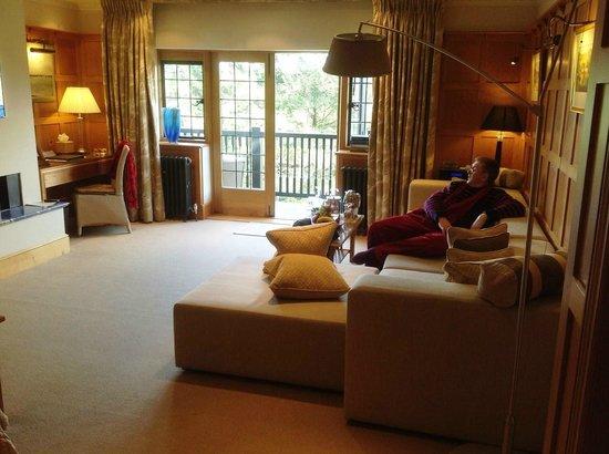 Gidleigh Park:                   Dartmeet Suite