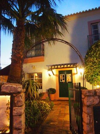Vila Velha :                   Restaurant entrance