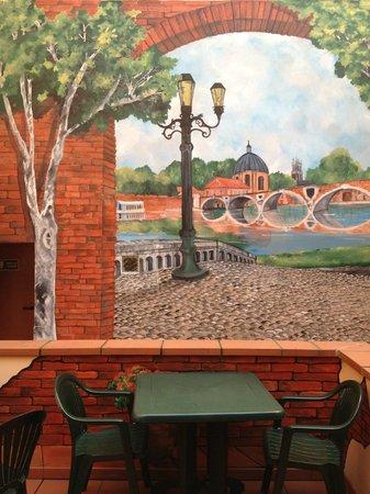Hotel Castellane: terrasse
