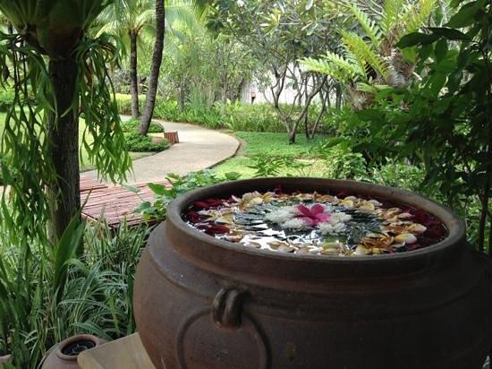 Bandara Resort & Spa:                   Gartenanlage
