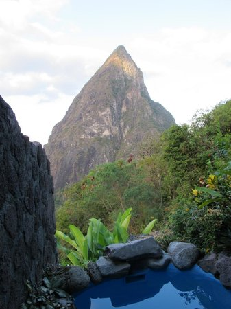 Ladera Resort:                   View from room