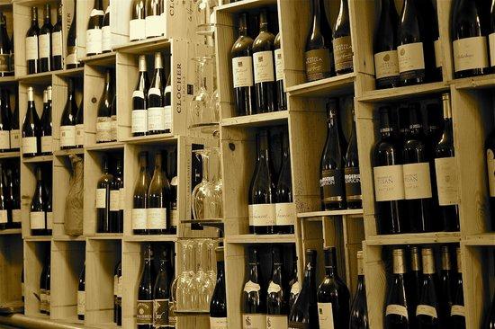 Au Terminus du Chatelet: Le choix des vins