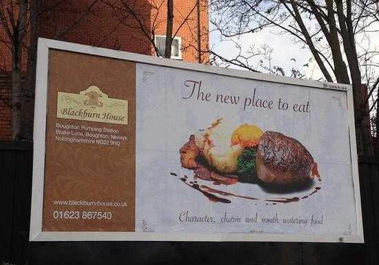 Boughton, UK : Billboard Campaign