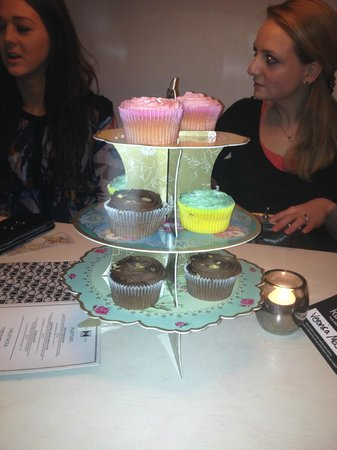 Balls Brothers - Mayfair Exchange:                   Cocktails and Cupcakes!
