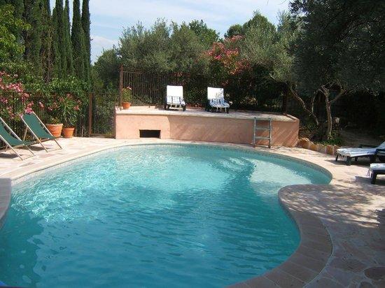 Les Oliviers : La piscine pour vous reposer