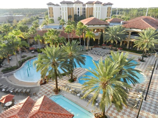 Floridays Resort:                   Beautiful Pool Area