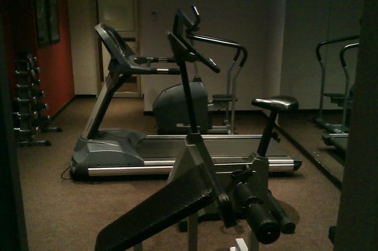 City Lodge Hotel Sandton Morningside:                   the gym
