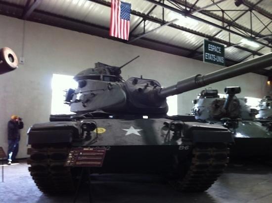 Musee des Blindes:                                     M60 USA 1978 - Saumur Tank Museum