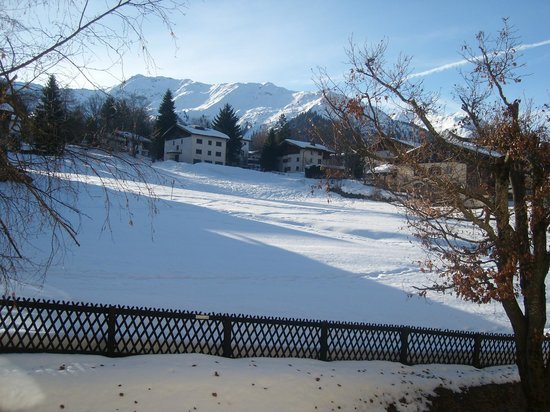 Hotel Sport Klosters:                                     The view from my room