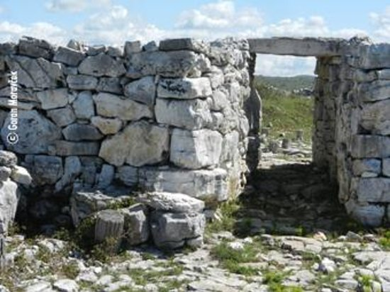 Monkodonja Hill Fort:                                                       Monkodonja, Rovinj, Istra, Croatia