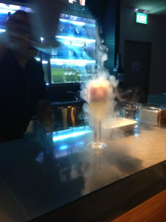 Aloft Bangkok - Sukhumvit 11:                   The Bar: Liquid Nitrogen