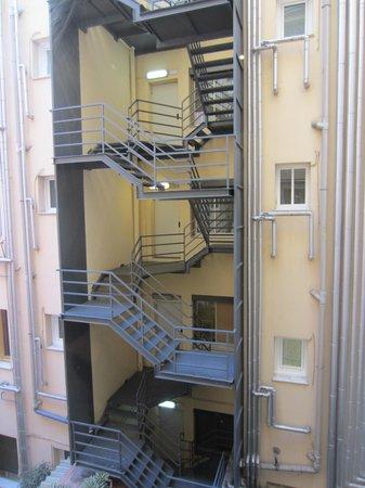 Colon Hotel: la vue imprenable sur un escalier de service