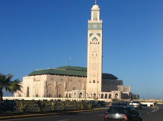 Hassan II Mosque:                   magnificient