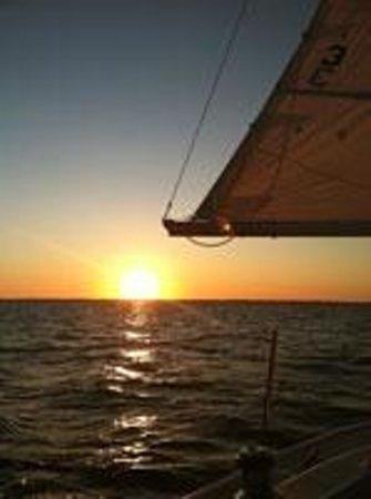 Just Sayin Charters: Sunset on St Joe Bay