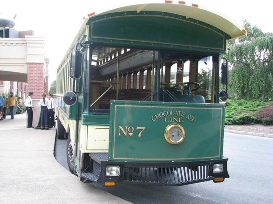 Hershey Trolley Works:                   Trolley Car