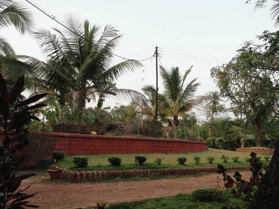 Prabhu Shrusti Resort :                                     Abundant nature and the red stones tyoical of Konkan