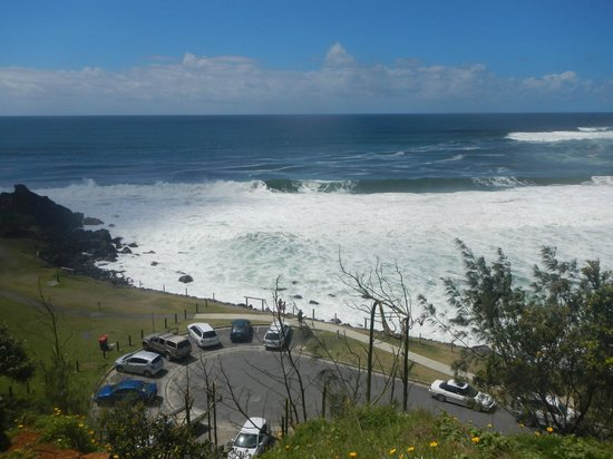 Point Danger:                   Great beach views.