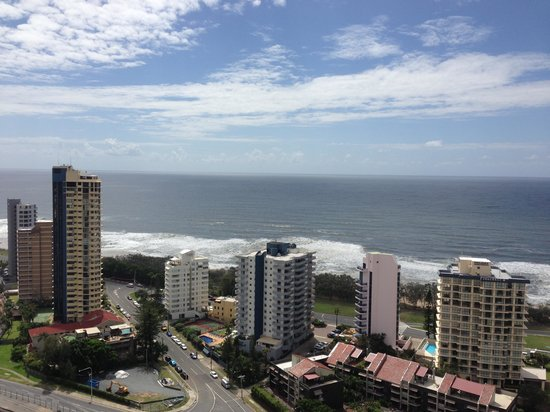 Surfers Paradise Marriott Resort & Spa:                   View from Balcony
