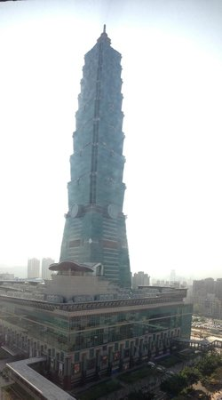 Grand Hyatt Taipei:                   Taipei 101 from the room