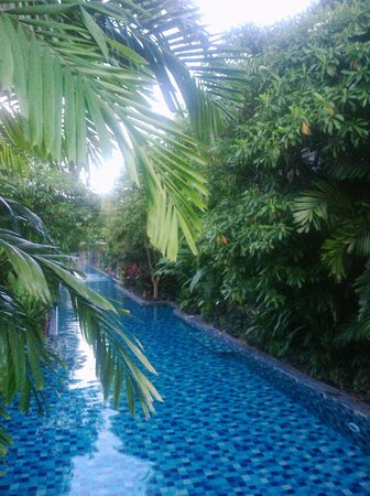 Metadee Resort and Villas:                   the pool