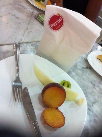 Perini: café da manhã