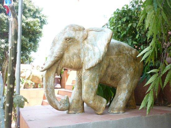 Wat Ounalom:                   cool elephant