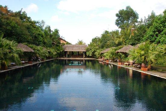 Pilgrimage Village:                   The Pool