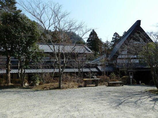 Hazu Gassho :                   Ryokan view from outside