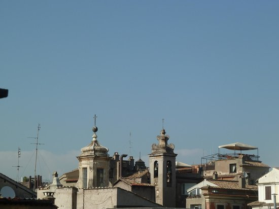 Pantheon Royal Suite:                   View from patio
