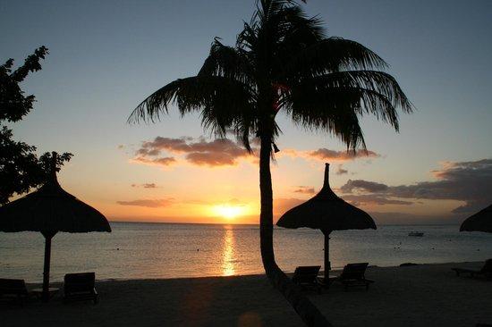 The Oberoi, Mauritius: sunset..