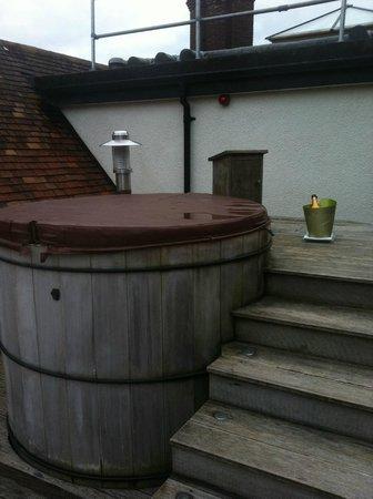 Gidleigh Park:                   Roof top hot tub - Manaton