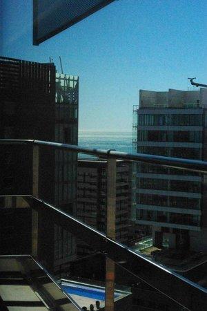 Barcelona Princess: Vue de la chambre au 23eme étage