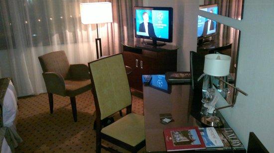 Corinthia Hotel Prague:                   Room view