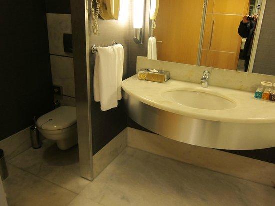 Rixos Konya:                   リクソス コンヤ・・・清潔な洗面とトイレ
