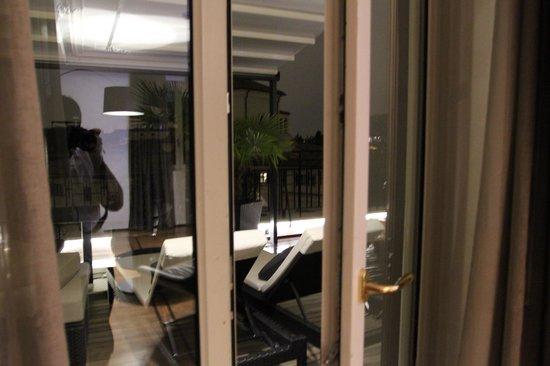 Berg Luxury Hotel: окно