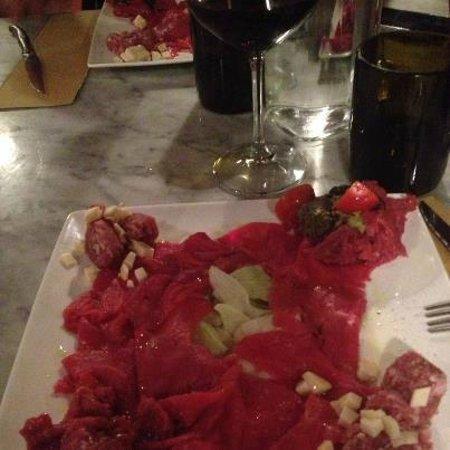 Maxela Milano:                   misto di carne cruda