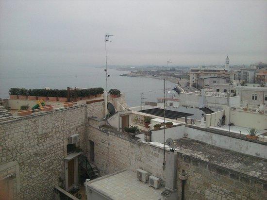 San Martin Hotel :                   La vista dalla camera