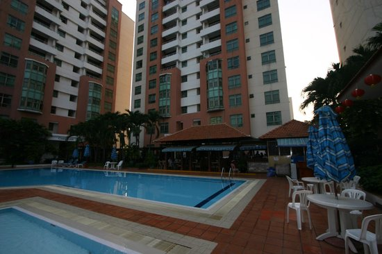 Somerset Ho Chi Minh City:                   Big Swimming Pool
