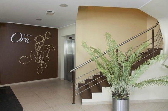Oru Hotel: lobby