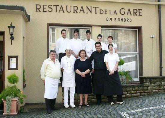 Restaurant de la Gare Chez Sandro: La brigade