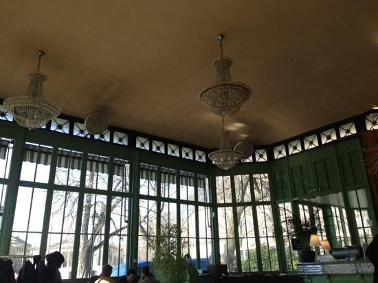 Cafe Restaurant du Parc des Bastions:                   la salle