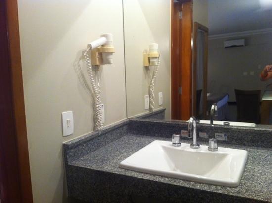 Plaza Inn Executive: lavabo